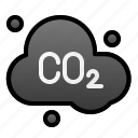 cloud, co2, ecology, enviroment, polution, smoke icon