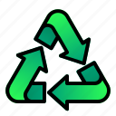 arrow, ecology, enviroment, recycle, triangle