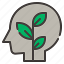 eco, head, ecology, nature, mind, think, environment
