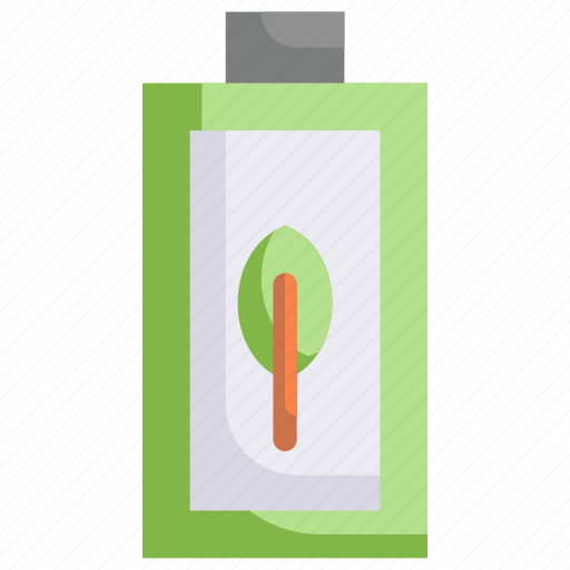 battery, charge, eco, ecology, electric, energy, nature icon