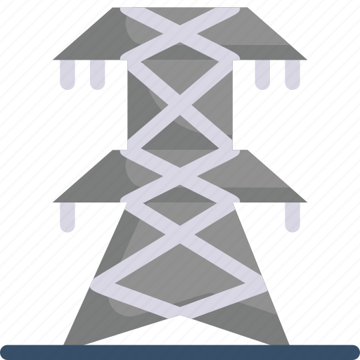 eco, ecology, electric tower, electricity, energy, nature, power icon