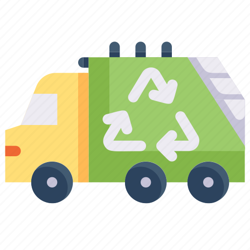 eco, ecology, energy, garbage truck, nature, recycling, trash icon