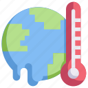 earth, eco, ecology, energy, global warming, nature, temperature icon