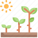 eco, ecology, energy, green, growth, nature, plant icon