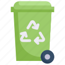 eco, ecology, energy, nature, recycle bin, reycling, trash icon