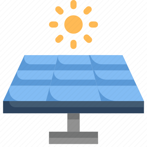 eco, ecology, electricity, energy, nature, solar energy, solar panel icon