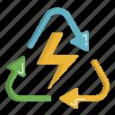 ecology, energy, green, renewable, renewable energy icon