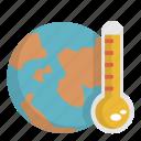 ecology, global warming icon