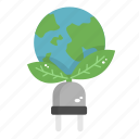 earth, eco earth, ecology, green, nature icon