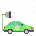 car, eco car, ecology, green, vehicle icon