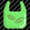 bag, eco, eco bag, ecology, green icon