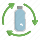 bottle recycle, ecology, green, nature, recycle icon