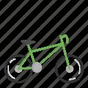 bicycle, bike, eco, ecology, green icon