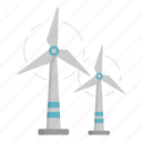 eco, ecology, energy, green, windmill icon