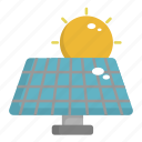 ecology, energy, green, panel, solar panel icon