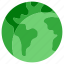 earth, ecology, environment, global, globe, green, world icon