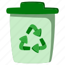 dustbin, ecology, environment, garbage, recycle, recycling, trash
