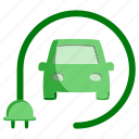 automobile, car, ecology, green, plus, transport, vehicle