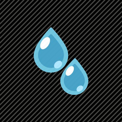 drop, fresh, liquid, nature, purity, water, wet icon