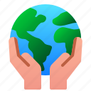 earth, ecology, enviroment, hand, planet, save