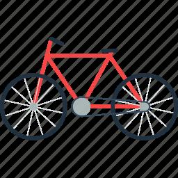 bicycle, bike, design, eco, ecological, ecology, nature icon