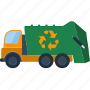 car, ecology, garbage, recycle, nature, trash, truck