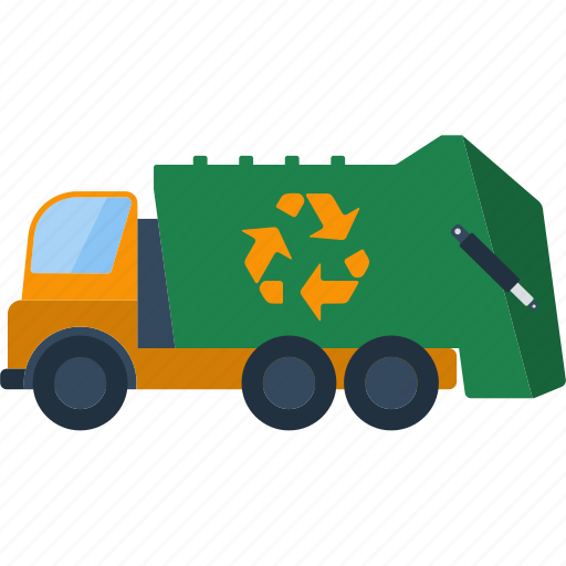 car, ecology, garbage, nature, recycle, trash, truck icon