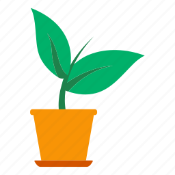 eco, ecology, flower, nature, plant, pot, sprout icon