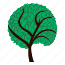 ecological, ecology, forest, leaf, nature, saving, tree icon