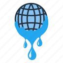 drop, ecology, economy, guardar, nature, planet, save, water icon