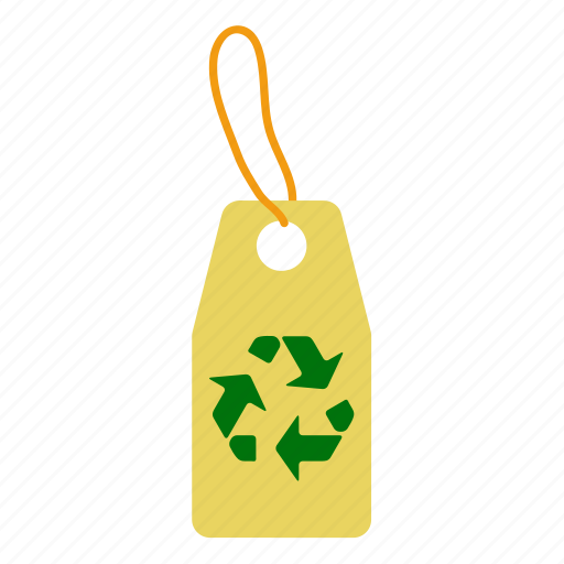 design, ecology, nature, paper, recycle, sign, tag icon