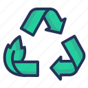 garbage, litter, recycling, waste sorting icon