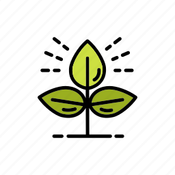 agriculture, green, growth, nature, planting, sprout, tree icon