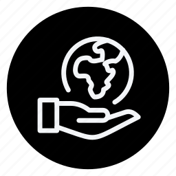 ecological, ecology, energy, environment, global, hand, nature icon