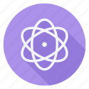 atom, atom symbol, ecological, ecology, energy, environment, nature icon