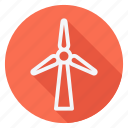 ecological, ecology, energy, environment, green, nature, windmill icon
