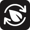 ecological, ecology, energy, environment, green, power, recycle icon