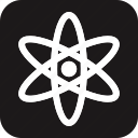 atom, ecological, ecology, energy, environment, green, power icon