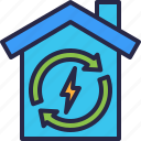 ecology, environment, electric, eco, house
