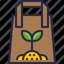 ecology, environment, reuse, paper, bag