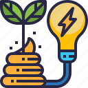 ecology, plant, power, compost, renewable energy