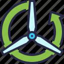 ecology, wind, windmill, renewable energy