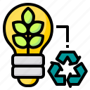 bulb, eco, ecology, energy, health, system icon