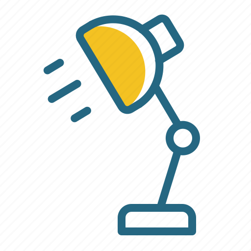 electricity, lamp, light, workplace icon
