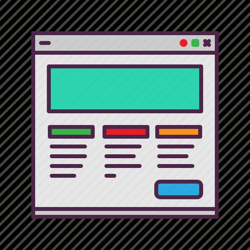 business, management, marketing, website icon