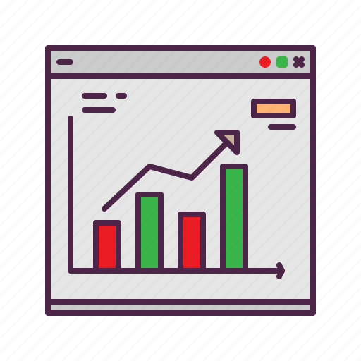 analysis, chart, data, profit, statistic icon