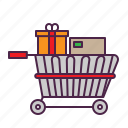 business, cart, ecommerce, online, shopping icon