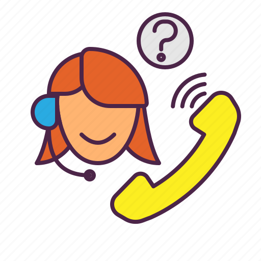 customer service, support icon