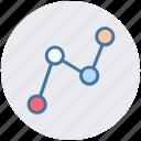 analytics, chart, chart info, interface chart, report, statistics icon
