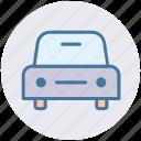 auto, car, front, generic, sedan, vehicle icon